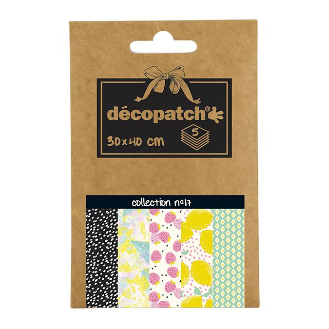 Papier Décopatch Pocket n°17