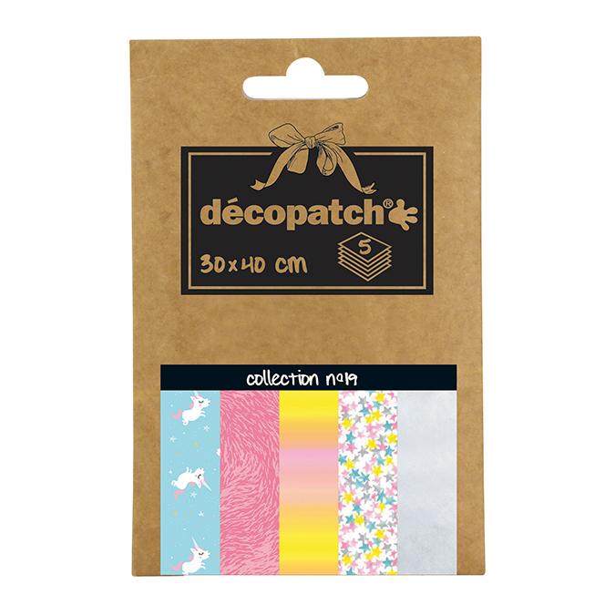Papier Décopatch Pocket n°19