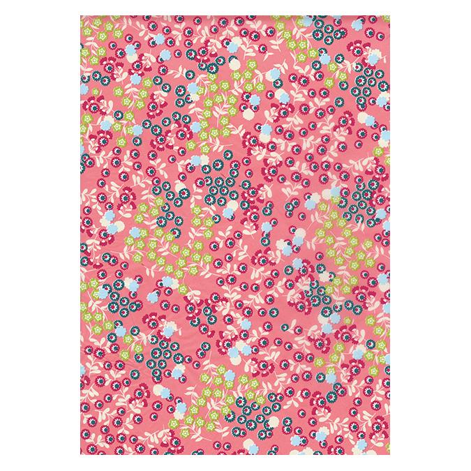 Papier Décopatch 796 Calico Flowers rose