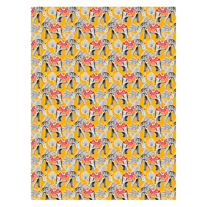 Papier Décopatch 825 Éléphants