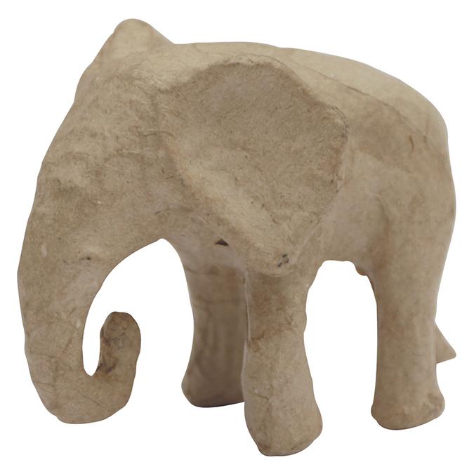 Éléphant d'Afrique 12 x 6,5 x 8 cm