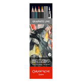 Crayon esquisse Aquarellable Set Multi-techniques Graphite Line 13 pièces