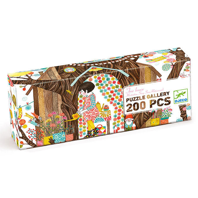 Puzzles Gallery Tree house 200 pcs