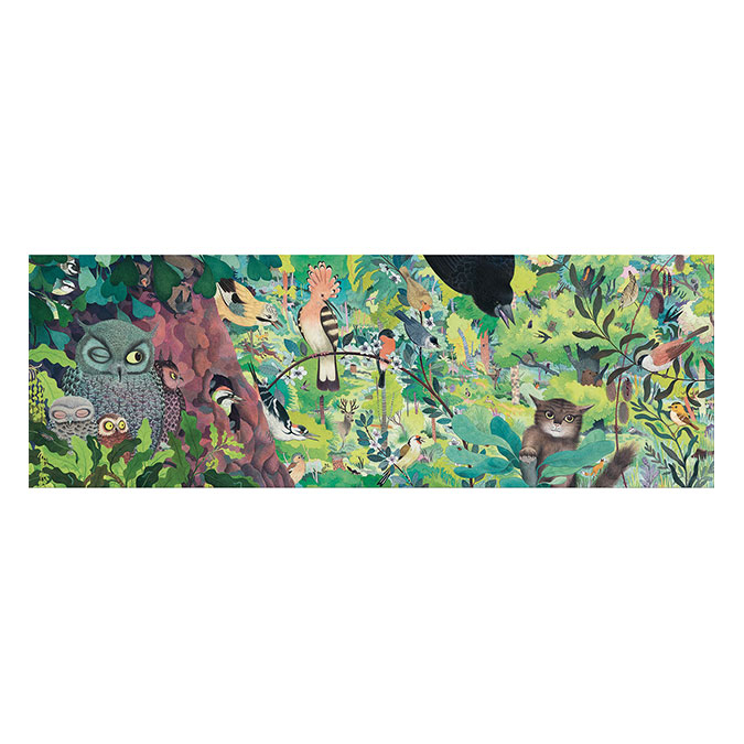 Puzzles Gallery Owls and birds 1000 pcs