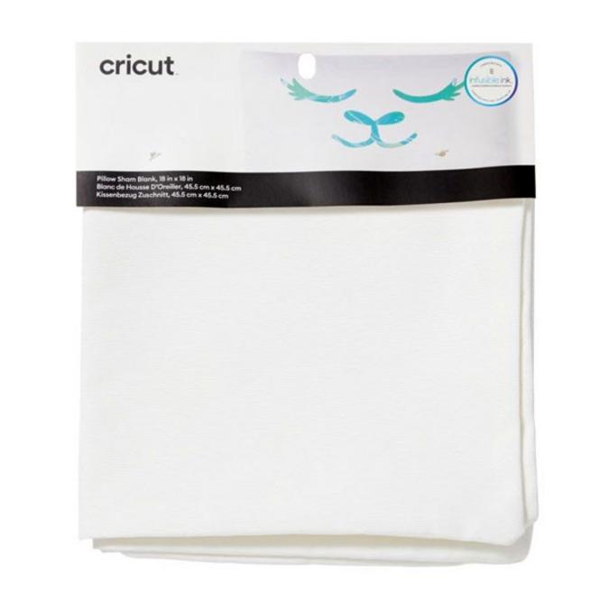 Taie d'oreiller blanc 45,5 x 45,5 cm