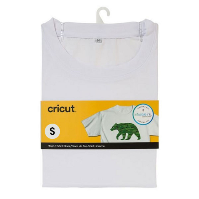 T-shirt blanc col rond Taille S