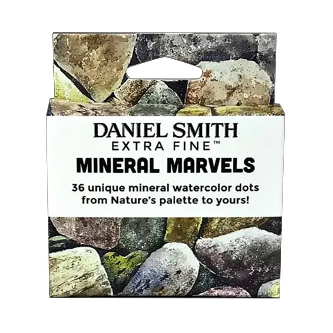 Carte nuancier d'aquarelle Set Mineral Marvels