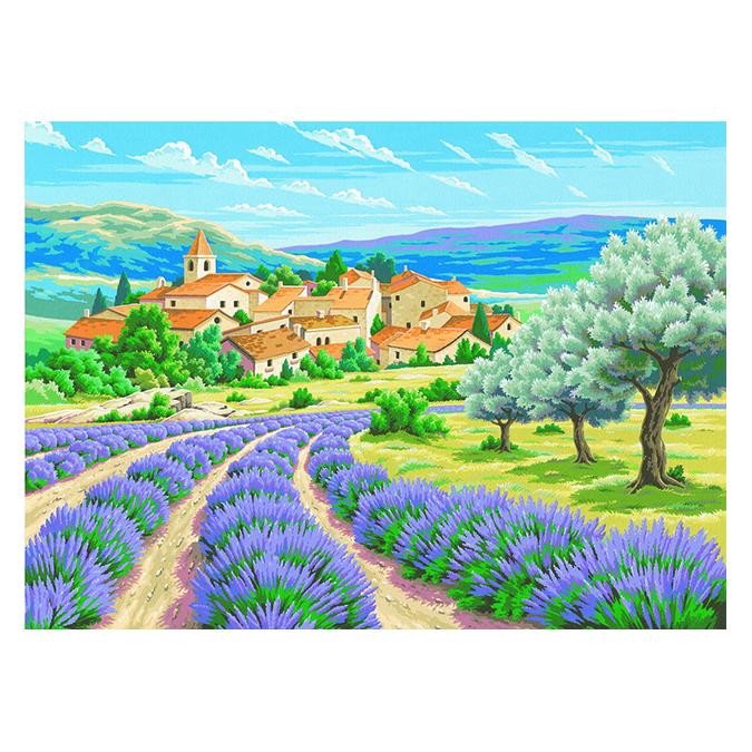 Peinture par numéro Lavande en Provence