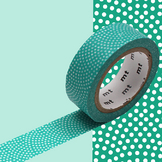 Masking Tape 1P Samekomon hisui 15 mm x 7 m