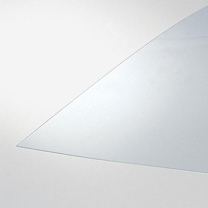 Plaque de verre organique transparent Épaisseur 1,2 mm
