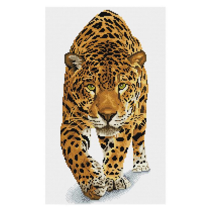 Broderie Diamant kit Squares intermédiaire Prince jaguar