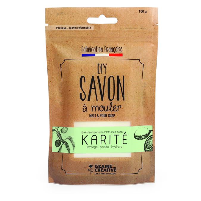 Pain de savon Karité 100 g