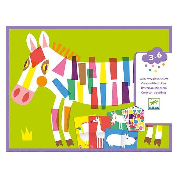 Stickers des petits Les grands animaux