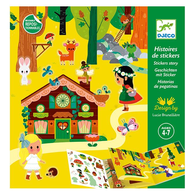 Stickers La forêt magique