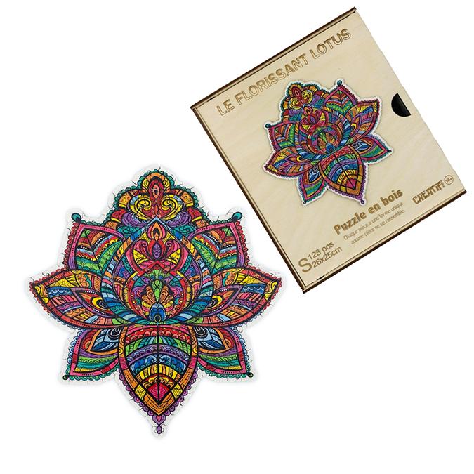 Puzzle en bois Le Florissant Lotus