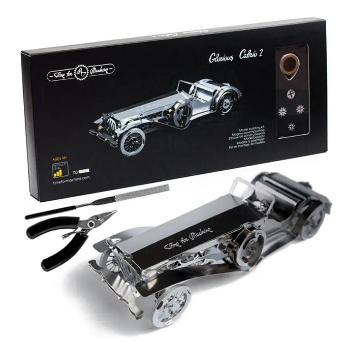 Puzzle 3D mécanique en métal Glorious Cabrio