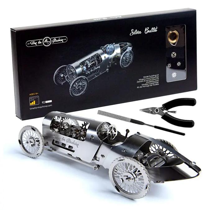 Puzzle 3D mécanique en métal Silver Bullet