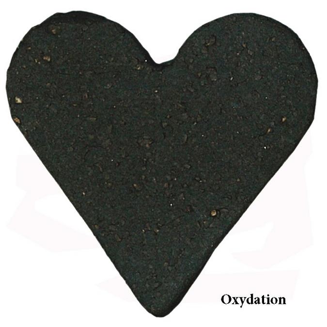 Grès noir African Stone chamotte 0-02 mm 12,5 kg