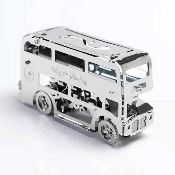 Puzzle 3D mécanique en métal Cute Double Decker