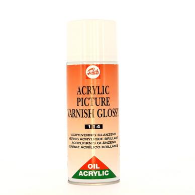 Vernis Acrylique Talens Pour Huile Et Acrylique Aérosol 400ml