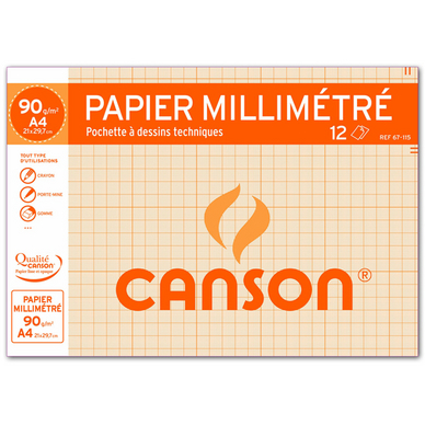 papier millimetre