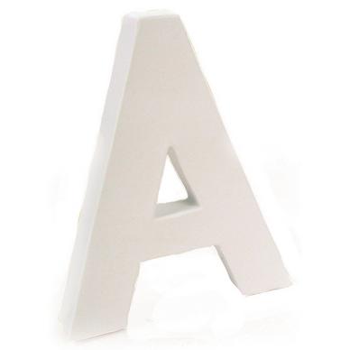 Lettre En Papier Mâché 12cm A Décopatch Chez Rougier Plé