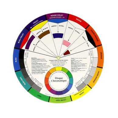 Disque Chromatique 13cm Cercle Chromatique Chez Rougier Plé