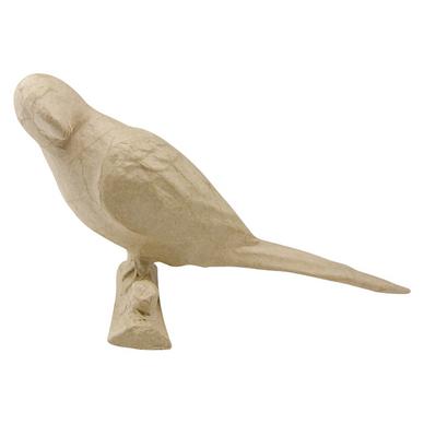 Perroquet En Papier Mâché 10 Cm