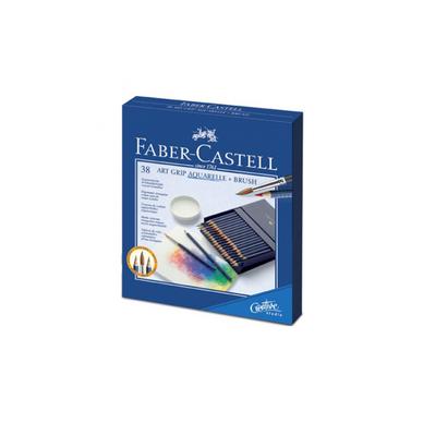 065c9a73eb2092 Boite de 38 crayons Art grip aquarellable Faber-Castell chez Rougier ...