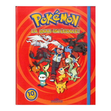 Livre La Maxi Integrale Pokemon