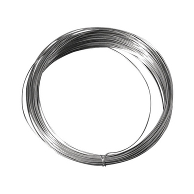 0,60 mm longueur 10 m Fil en cuivre argenté de diam