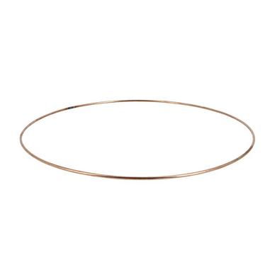 carcasse d'abat-jour cercle nu Ø 20 cm cuivre fil cuivré (le) chez