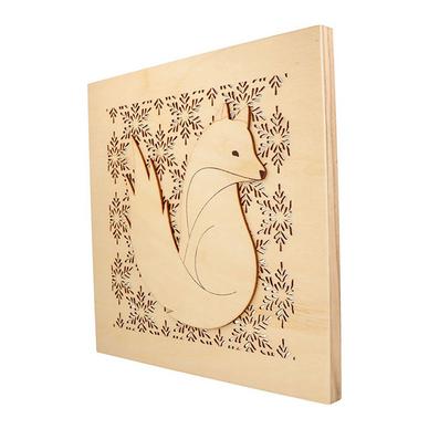 Artemio Bois 19 cm Lettre J en majuscules de Couleur Beige